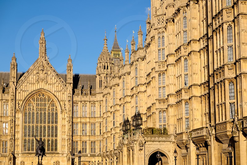 View of the Houses of Parliament photo