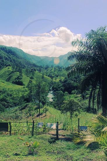 Guatemala mountAins jungle landscape mist travel hike photo