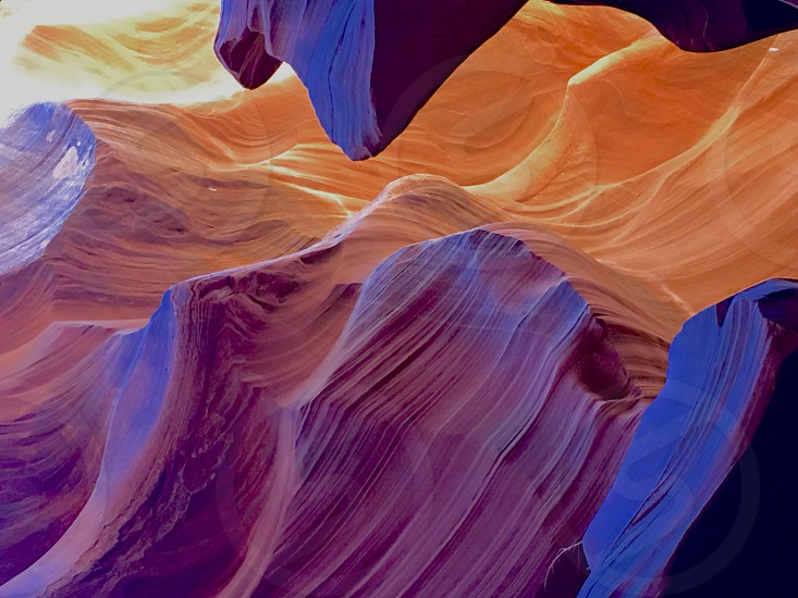 Arizona's lower Antelope Canyons photo