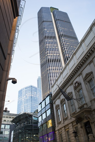 Contemporary Buildings in city of London photo