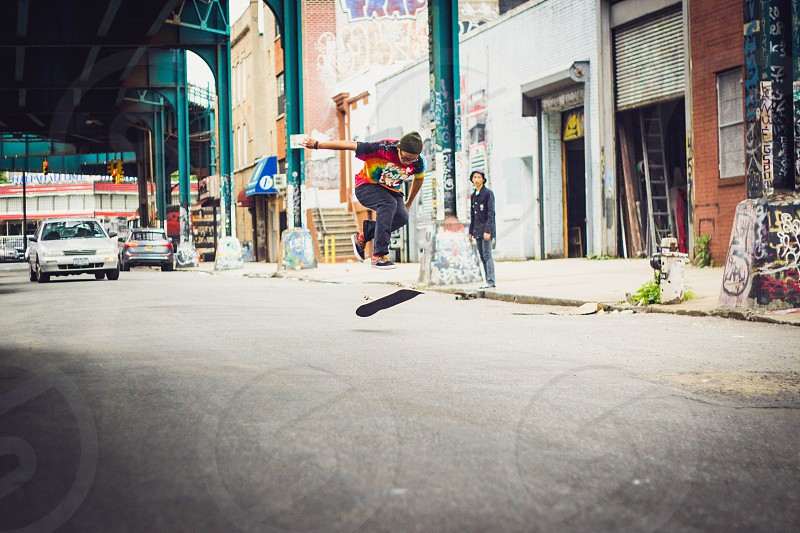 black skinny jeans photo