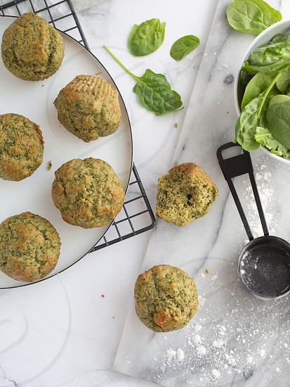 Spinach muffins-2839 photo