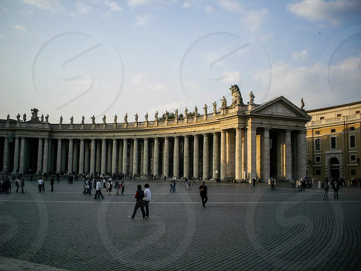 St. Peter's Square - Vatican City Italy photo
