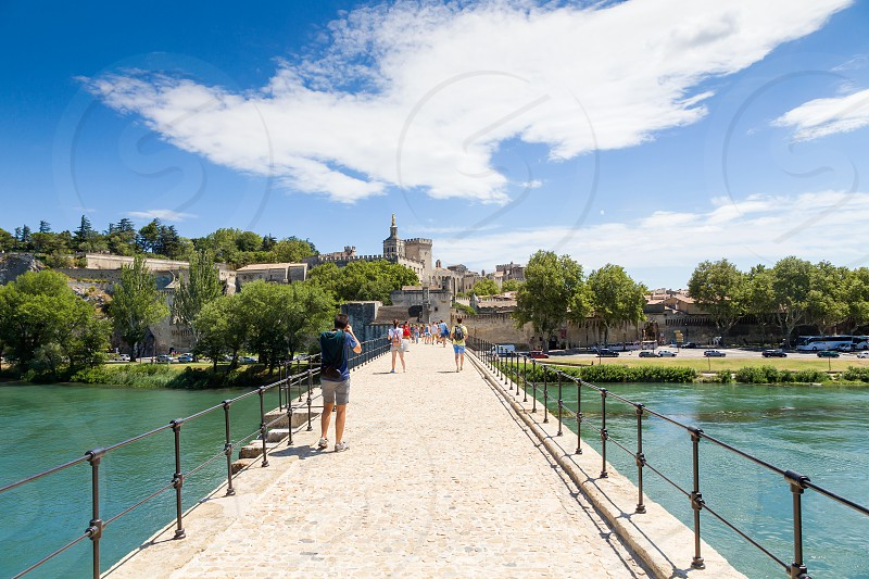 Pont Saint Bénézet at Avignon France photo