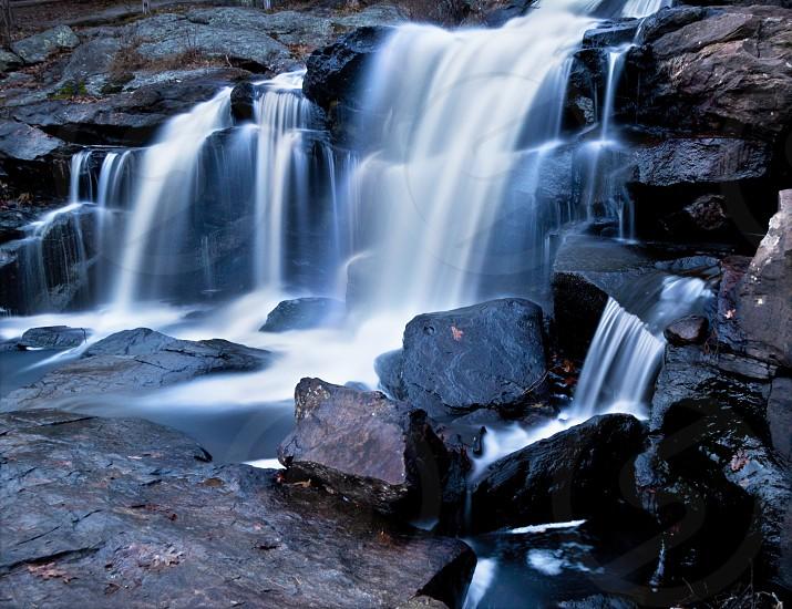 water falls at devils hop yard photo