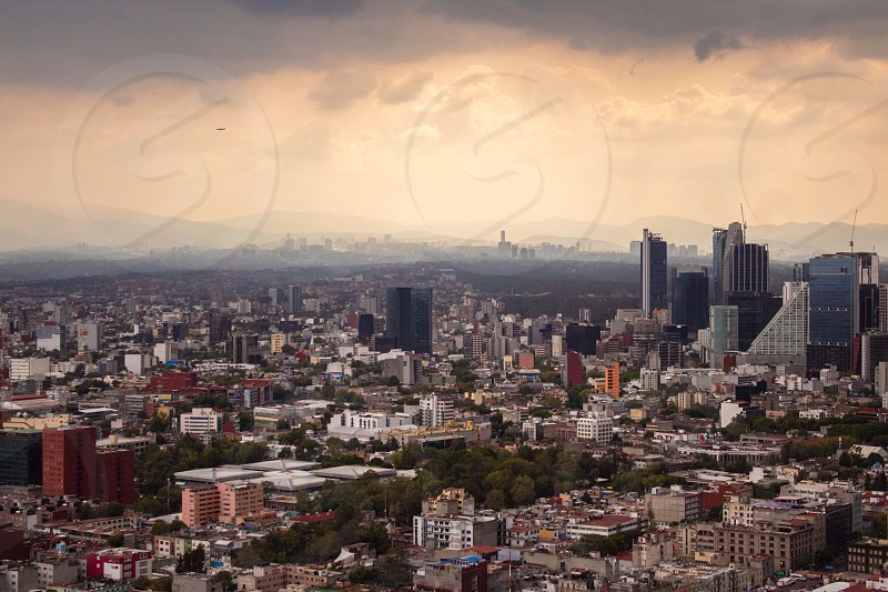 mexico city panorama america american architecture baroque building capital cathedral catholic cdmx cityscape constitution culture day destination df distrito downtown exterior federal historic landscape latin metropolitan Mexican national sky sunset photo