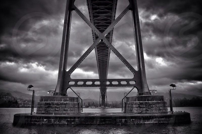 Lionsgate Bridge Vancouver BC photo