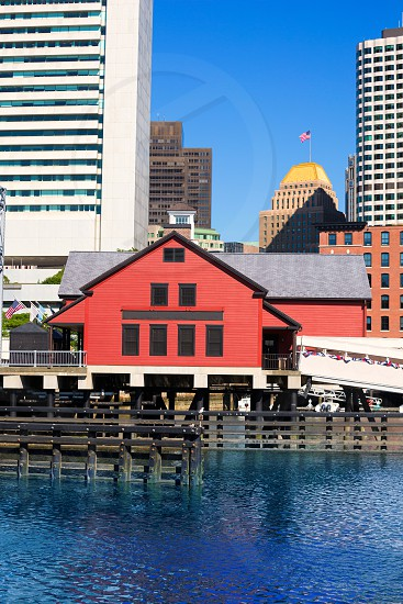 Boston Tea Party in Massachusetts USA photo