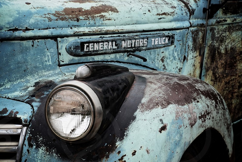 Aged GMC Truck photo