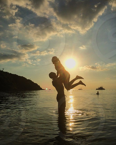 Sunset love on the beaches of Thailand with my wife.  So beautiful the memories we get to share with the world.   photo