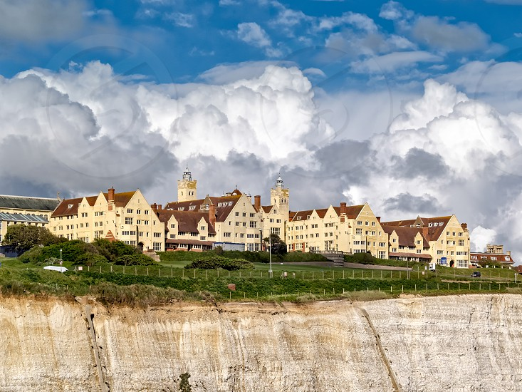 View of Roedean School near Brighton photo