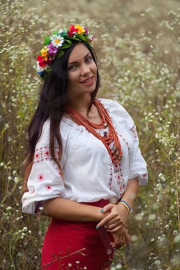 Ukrainian girl. Comfort. Statement photo