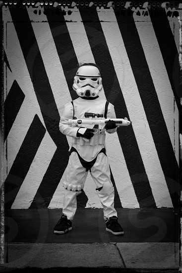 Stormtrooper Star Wars costume Halloween  photo