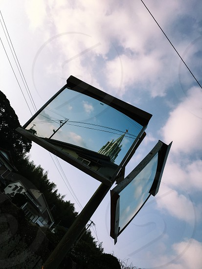 Japan Nagasaki Interection Hirado The landscape Trip History   日本 長崎 鏡 教会 平戸 交差点 旅行 風景 日常  キリスト ザビエル 歴史 photo