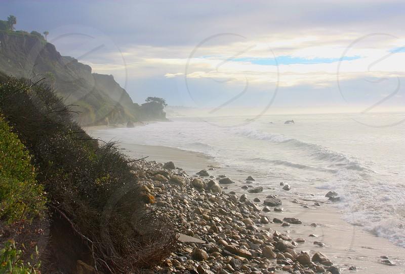 Early morning taken at Point Dume Beach Malibu photo