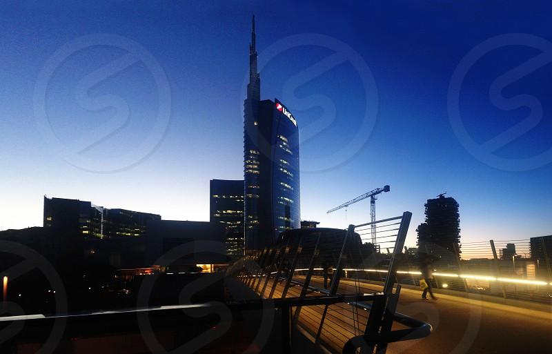 Milan view photo
