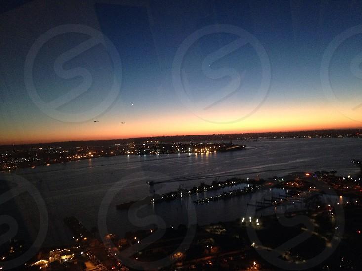 San Diego sunset. photo