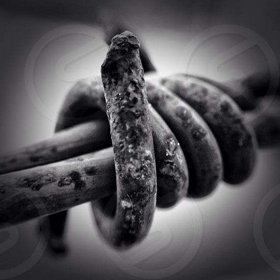spiral metal grayscale photography photo