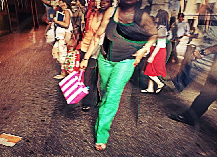 the human catwalk photo