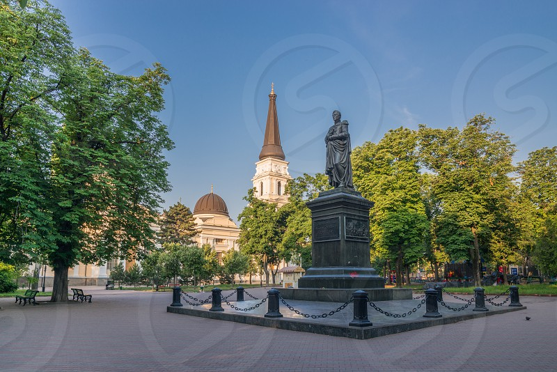 Odessa Orthodox Cathedral of the Saviors Transfiguration in Ukraine Europe photo