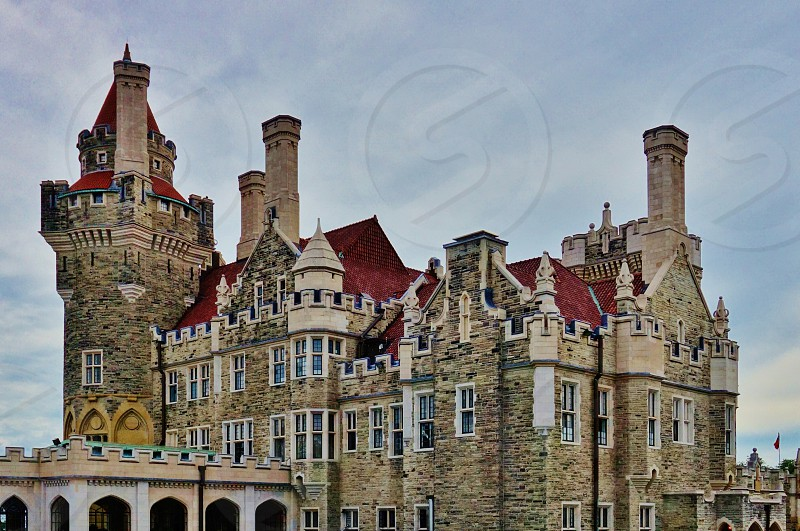 Casa Loma in Toronto Canada photo