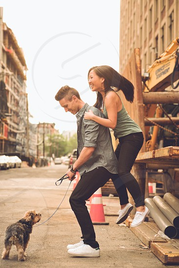 couple dog mixed interacial lifestyle imagery image love summer spring amor cute photo