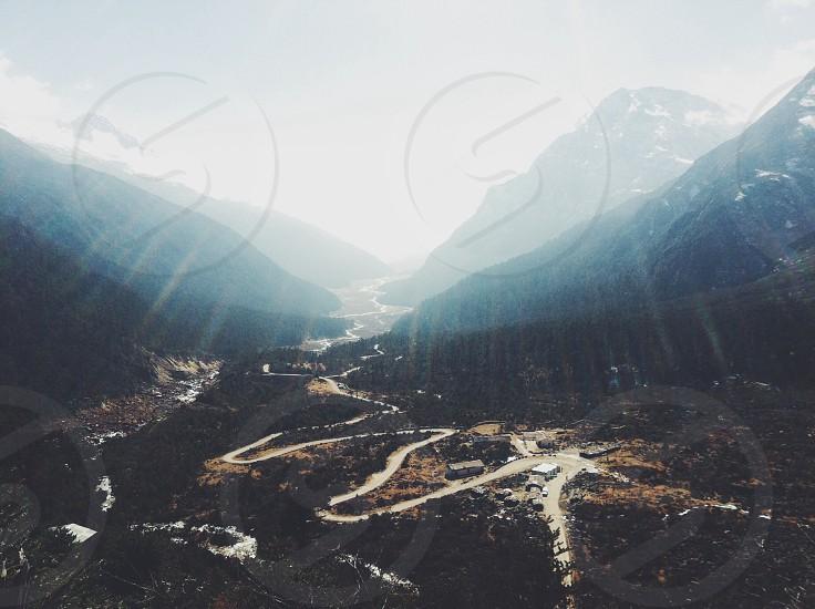 Himalaya line photo