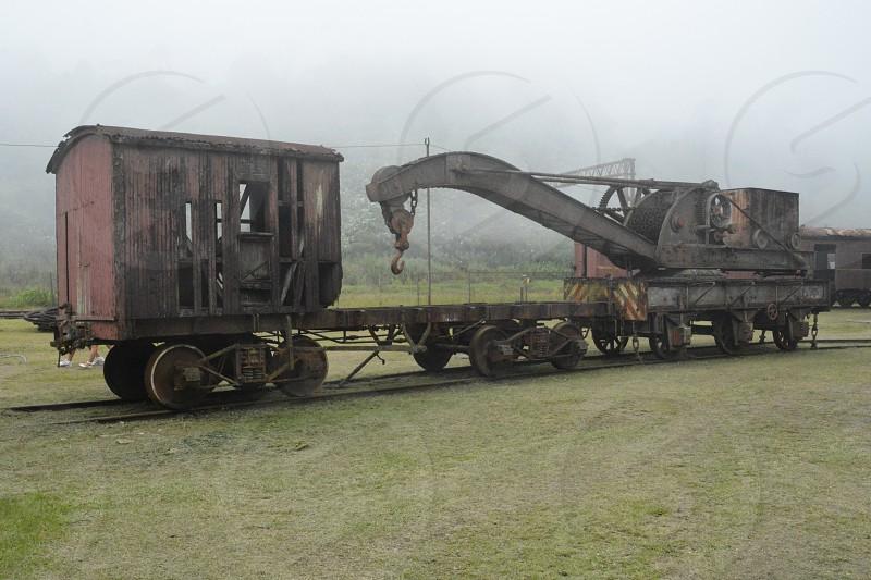 Crane rail photo