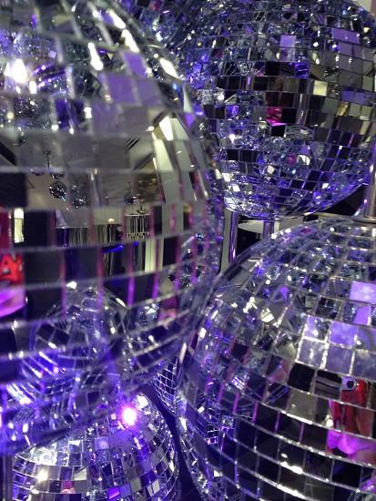 glass disco ball photo