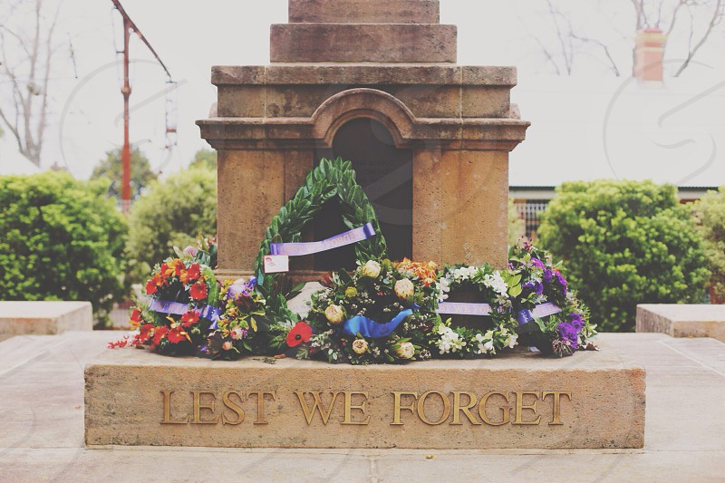 lest we forget photography photo