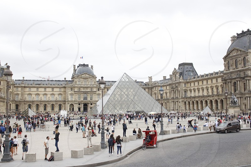 The Louvre Museum a must-visit place when you are in Paris. photo