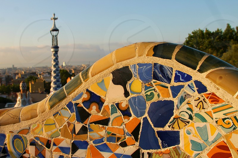 Captured in Park Guell in Barcelona in Summer 2016. photo