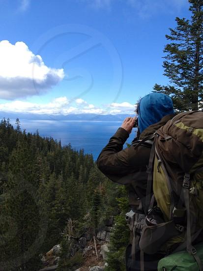 Caught Gramming Lake Tahoe photo