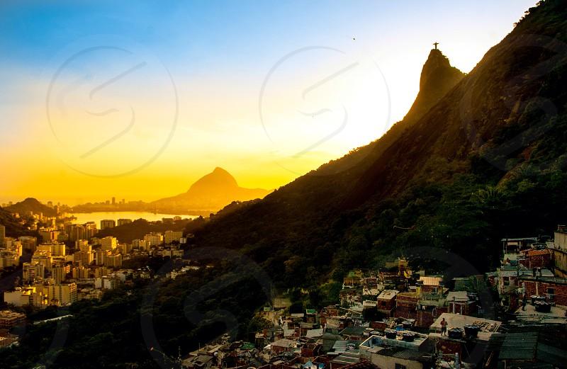 Rio de Janeiro colors degrade photo