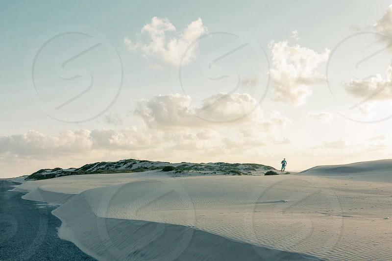 white beach photo