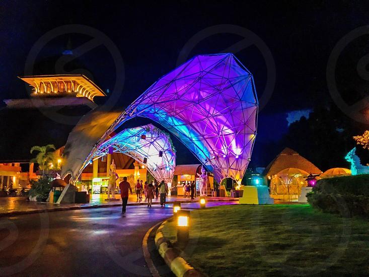 Main entrance to Chiang Mai Night Safari Thailand photo