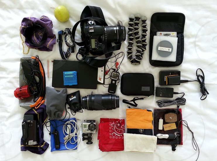 What's in the bag - June 2014 photo