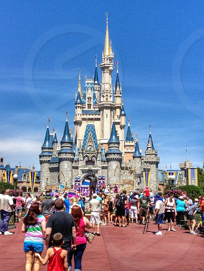 Disneyworld orlando florida America Wonderful magic castle photo