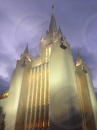 Mormon temple San Diego  photo