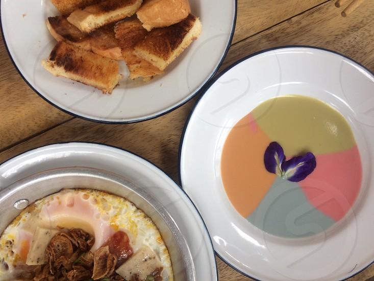 Breakfast meal food Asia food Thai food Asian food photo