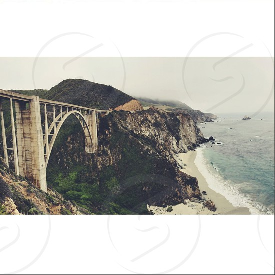 Bixby canyon bridge  photo