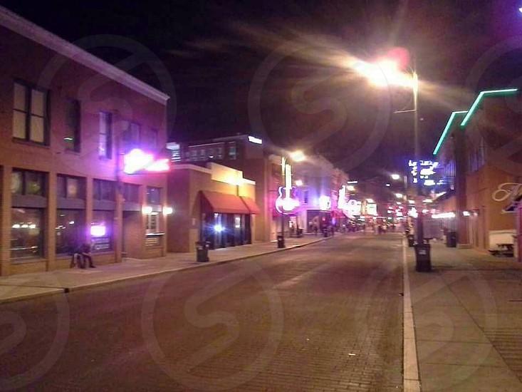 Beale St. Memphis TN photo