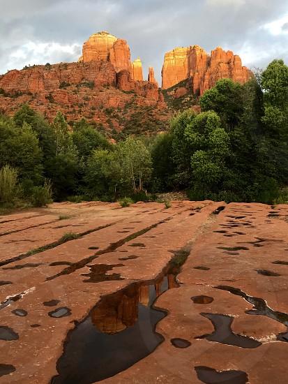 photo of mountain plateau photo