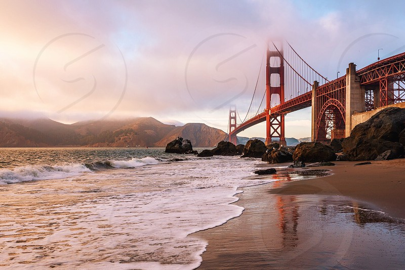 Golden Hour at the Golden Gate photo