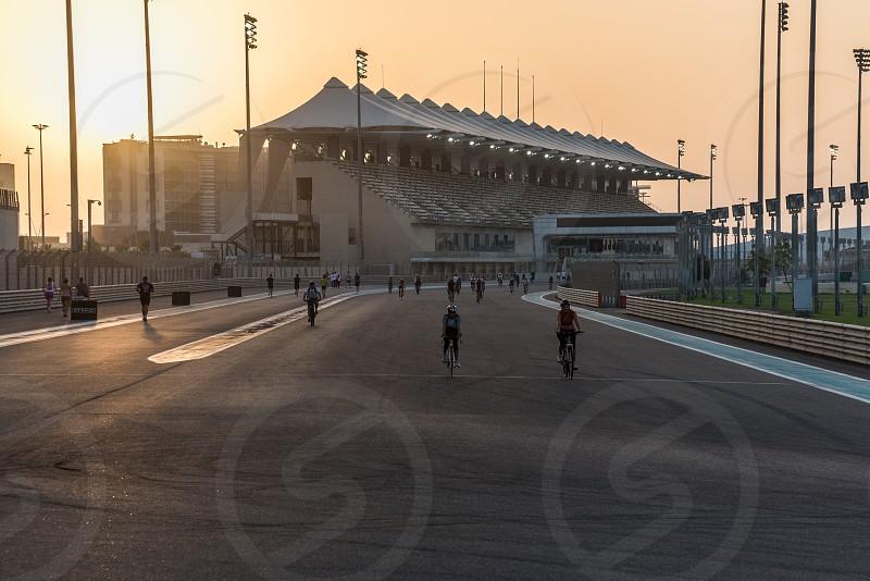 Yas Marina circuit Abu Dhabi photo