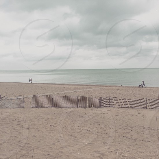 Lake Michigan Chicago Beach photo