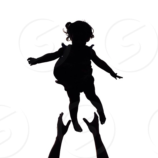 girl silhouette photo