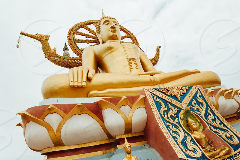 Big Buddha statue on Koh Samui island photo