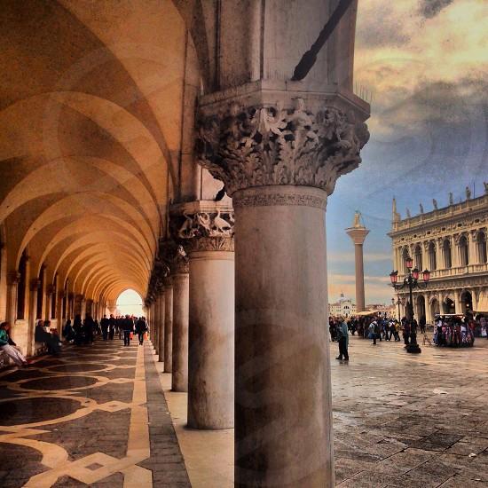 Piazza San Marco Venice Italy photo