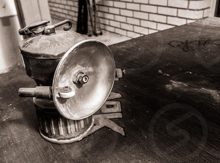 Miner's lantern? photo